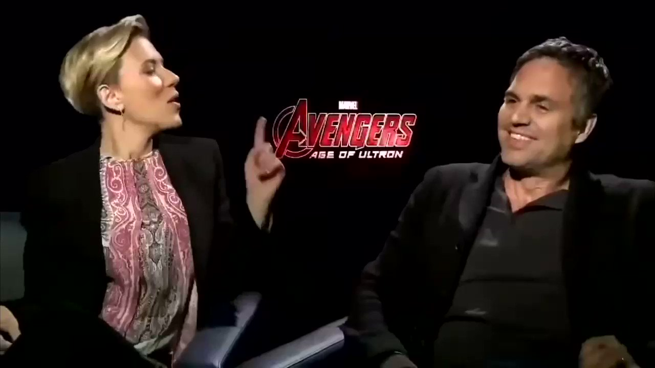 Happy birthday Scarlett Johansson and Mark Ruffalo