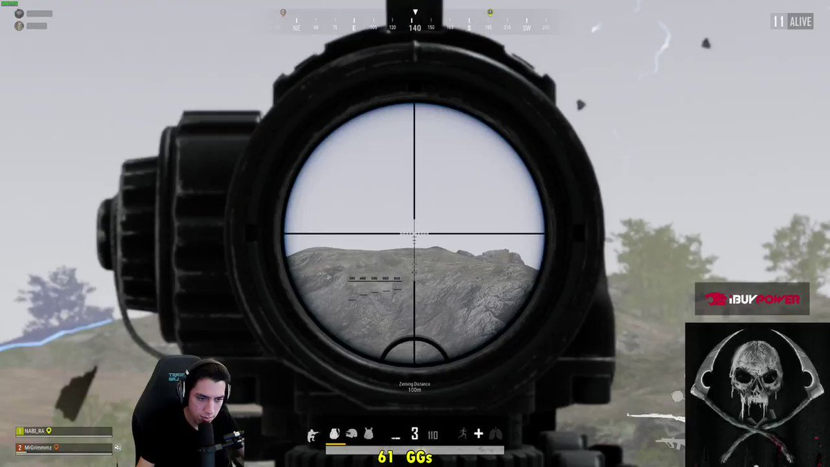Grimmmz - A very very random 17 hour stream w/ @nabi_ra PUBG and DBD, wtf man. See yall in the early morning, probably starting up WoW to see if i want to carry on with Shadowlands. <3 <3