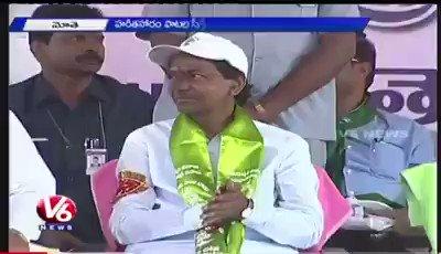 @PrakashJavdekar speech about  greatness of CM KCR SIR @MPsantoshtrs @IKReddyAllola @HarithaHaram @SudhaRamenIFS @harichandanaias @naveenktrs @ysathishreddy #GreenIndiaChallenge