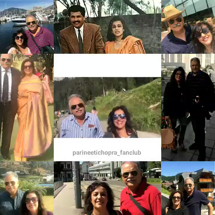 Wishing a very Happy Anniversary to Reena Aunty and Pawan Uncle on behalf of @ParineetiChopra fans ❤ @rynachopra #PawanChopra