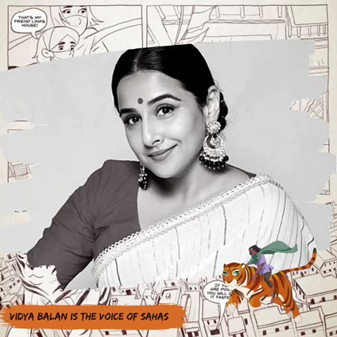So looking forward to this @vidya_balan as the voice of sahas @powerofpriya @TanviG