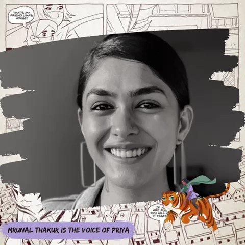 @mrunal0801 as the voice of priya @powerofpriya way to go @TanviG