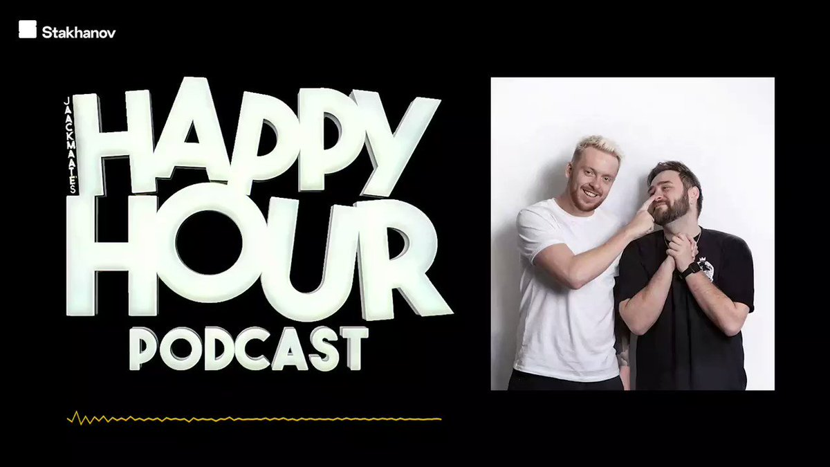 NEW EPISODE OUT NOW!  We've uploaded a two year Happy Hourversary Special!  Jack and Stevie sit down to talk about their favourite guests and their favourite moments in the studio!  Get ready for a trip down memory lane...