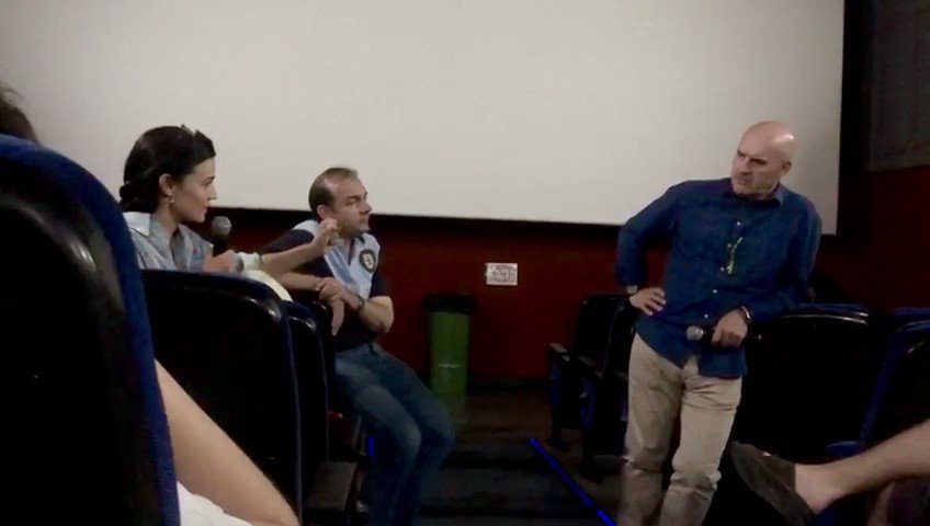 2/2 Fragmento del coloquio tras la proyección de #LopeEnamorado ✨ Podéis ver la película completa en @rtve a la carta hasta el 5 de diciembre. @Rdlf_Montero