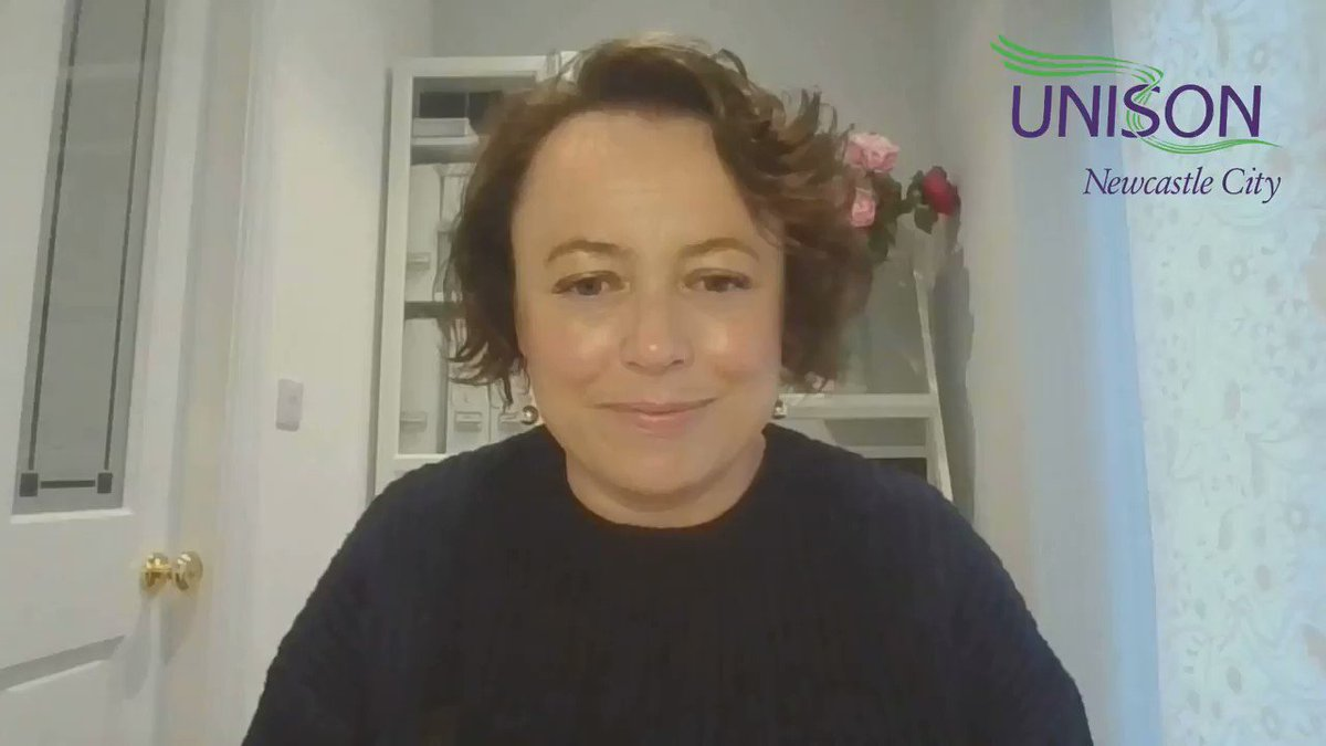 ⭐️@CatMcKinnell MP for Newcastle North sending a message of Thanks to our Newcastle #StarsinOurSchools @NorthernUNISON @unisontheunion @UNISONinSchools