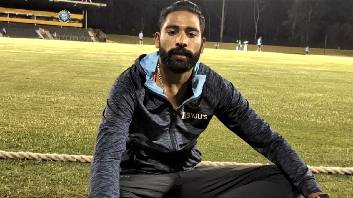 Want to fulfill my father's dream: Siraj  The fast bowler speaks about overcoming personal loss and why he decided to continue performing national duties in Australia. Interview by @Moulinparikh   Full interview 👉 #AUSvIND