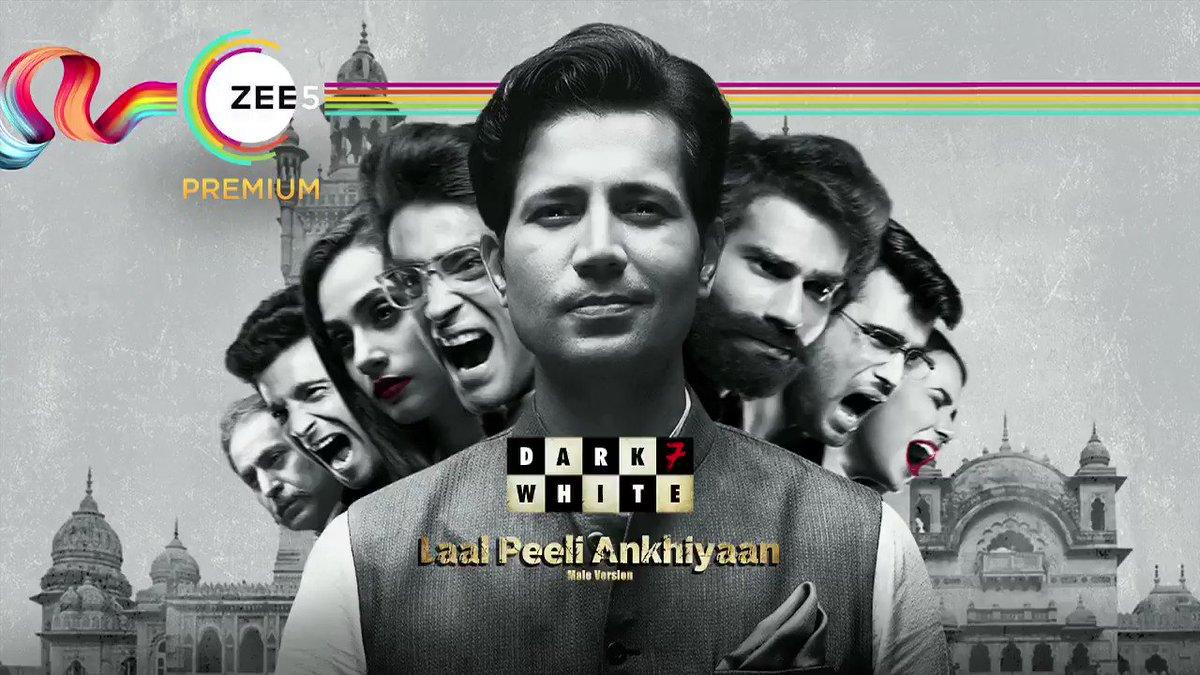 🎶 Laal Peeli Ankhiyaan 🎶 Groove to Rajasthani folk music with a modern twist. #Dark7White Premieres tomorrow 24th November on #ZEE5 #WhoKilledTheCM