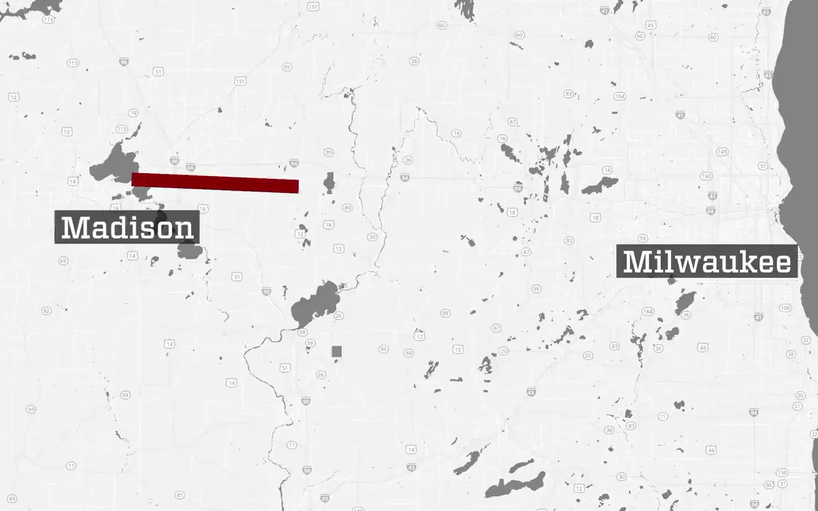 Did you know: if you lined up all the books in UW–Madison's Memorial Library, they'd extend 78.5 miles, over to Milwaukee and Lake Michigan? 📚#FutureBadger📚 https://t.co/XnVsrJgsZr