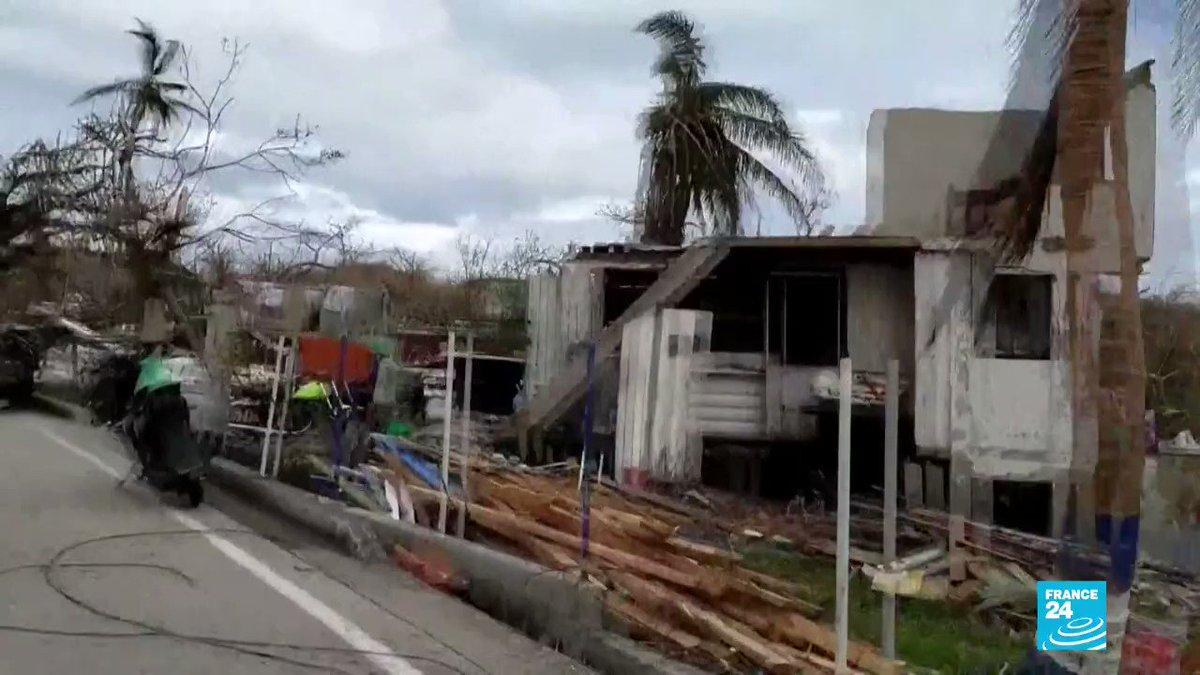 Centroamérica e islas colombianas de San Andrés y Providencia, devastados tras el paso de dos huracanes ➡