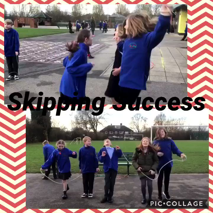 Wow! Amazing teamwork. There really is no end to our skipping talents. #dinnertime #laughter