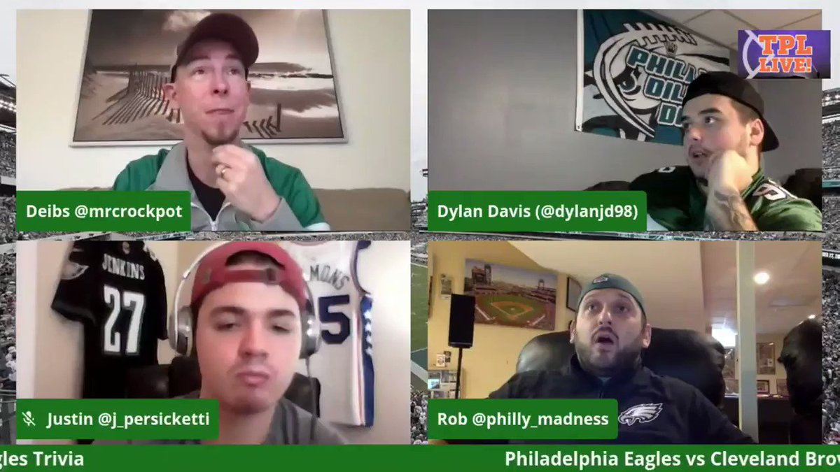 Eagles vs Browns Reaction in 14 Minutes or Less  Here is the best of the best from @mrcrockpot, @Philly_Madness, @matt_mcginty, @dylanjd98 & @j_persicketti during our Eagles vs Browns live stream  I #FlyEaglesFly I #CarsonWentz I #PHIvsCLE I #NFLTwitter I
