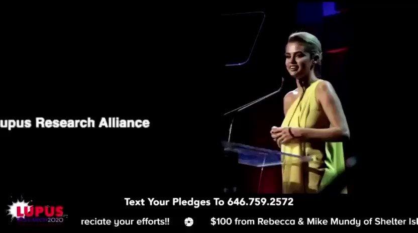 Message spécial de Selena Gomez à l'événement #LupusResearchAlliance2020