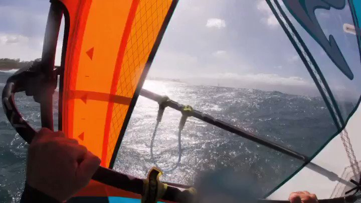 Image for the Tweet beginning: POV Hookipa action getting a