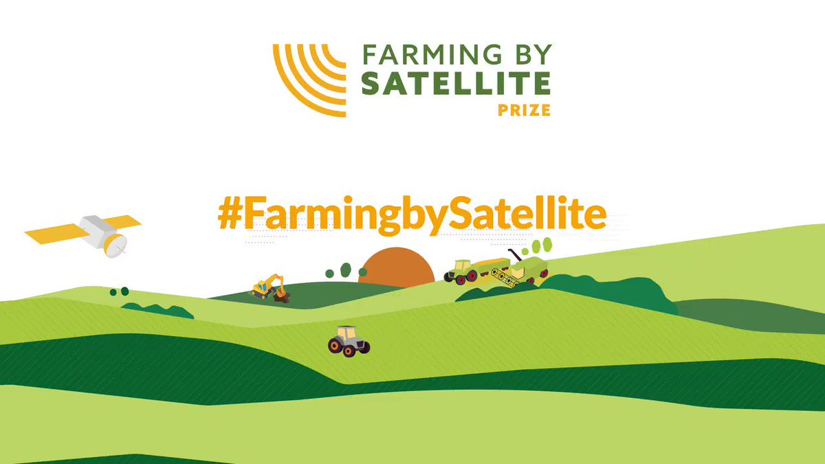 Discover the winners of the #FarmingbySatellite Prize 2020 at the #awardsceremony on 30th Nov. All eight grand finalists will present their innovative ideas to improve #agriculture with EU satellite technologies. For more info and to register, head here: