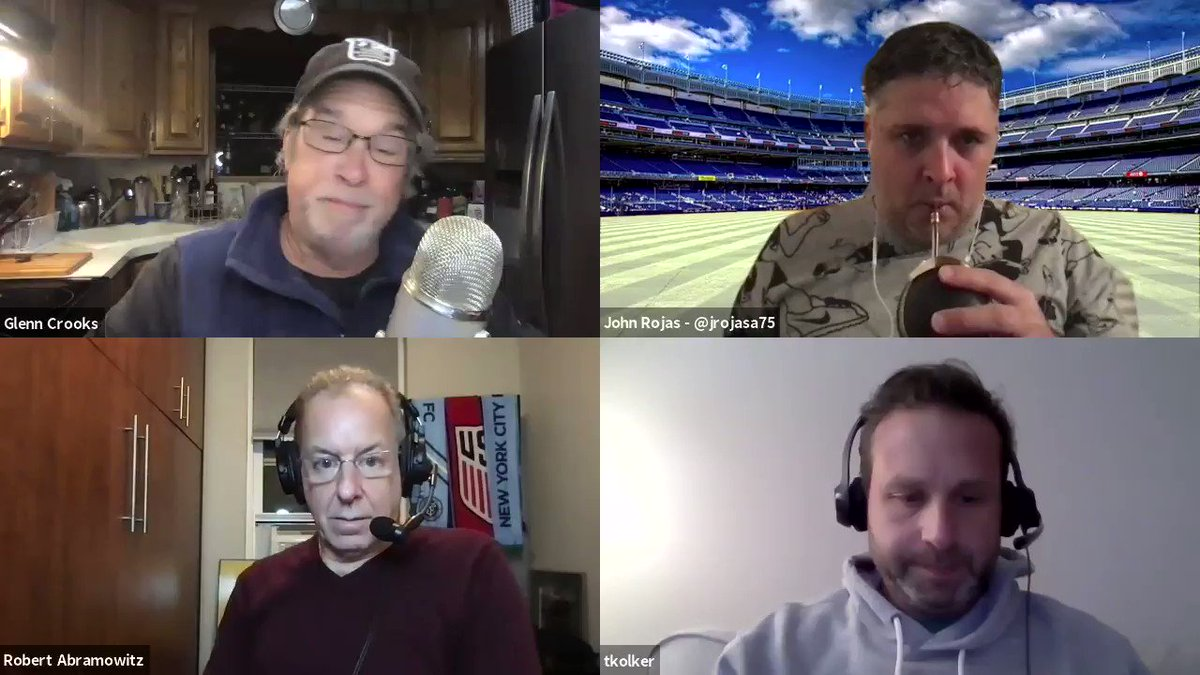 Last night we recorded #SoccerInTheCity which will be published later today @ApplePodcasts @WFAN660   We break down every facet of #NYCFC's loss #ORLvNYC #MLSCupPlayoffs    And we address the sexual harassment charges as portrayed in a story by @MLSist @TheAthleticSCCR @MLS #MLS