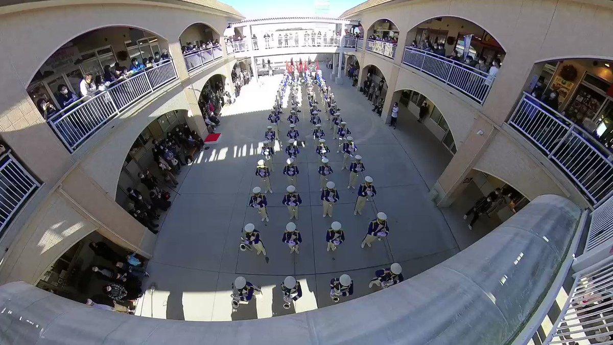 大洗高校吹奏楽部「ブルーホークス」の演奏を偶然見る事が出来たんで鑑賞。ダイジェストとしては短過ぎるが全曲圧巻のパフォーマンスだった。insta360で撮影してみたがその凄さが少しでも伝わればと思う