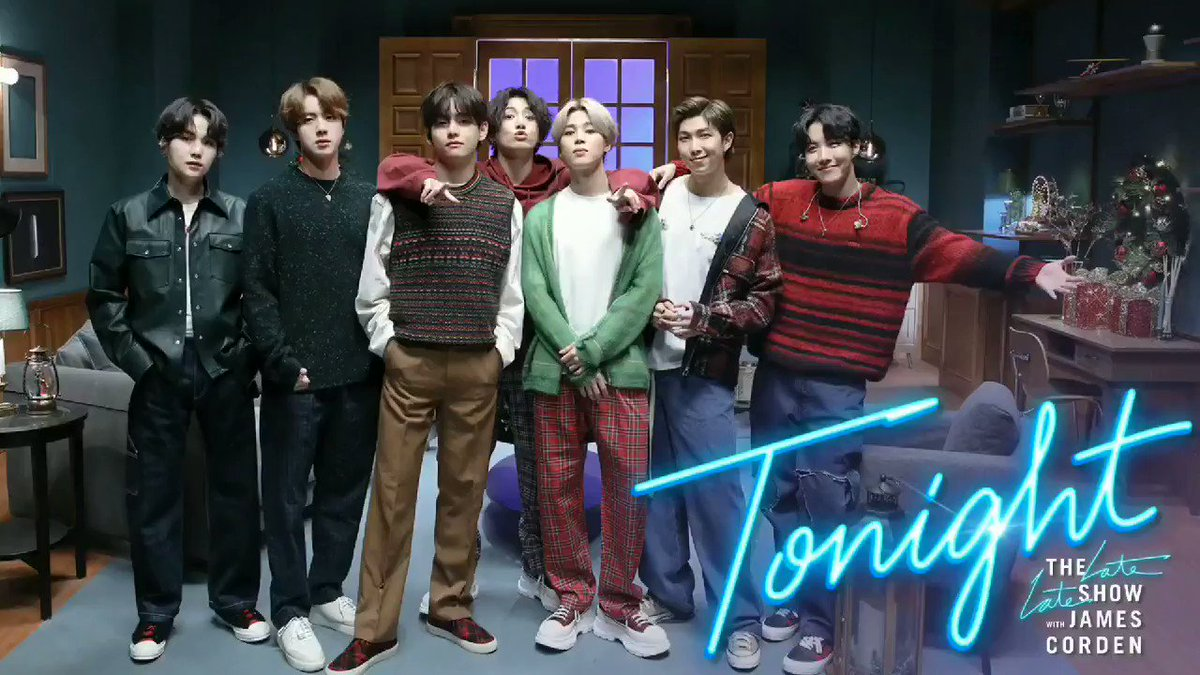 @latelateshow @bts_bighit @BTS_twt @CBS #BTSxCorden  #LifeGoesOn  So beautiful performance.💜 Thank you so much.💜  #BTS_BE #BTS @BTS_twt  BTS  Life Goes On  Dynamite  Stay Gold  Your Eyes Tell  ON