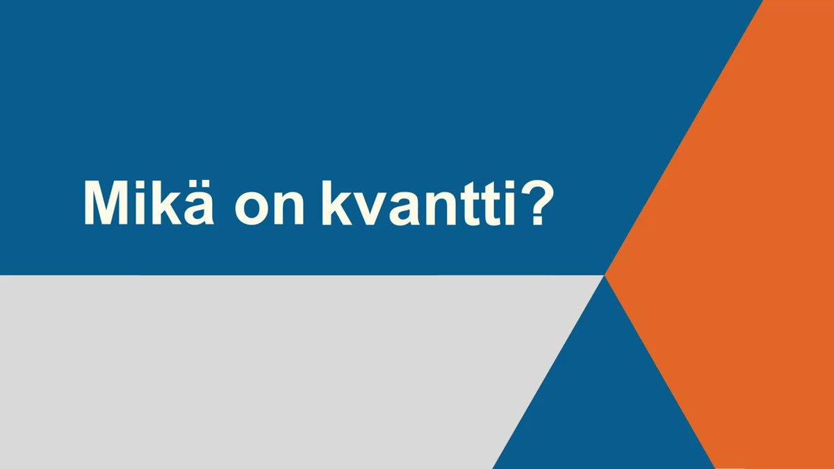 Image for the Tweet beginning: Suomen ensimmäisen kvanttitietokoneen rakentaminen alkaa,