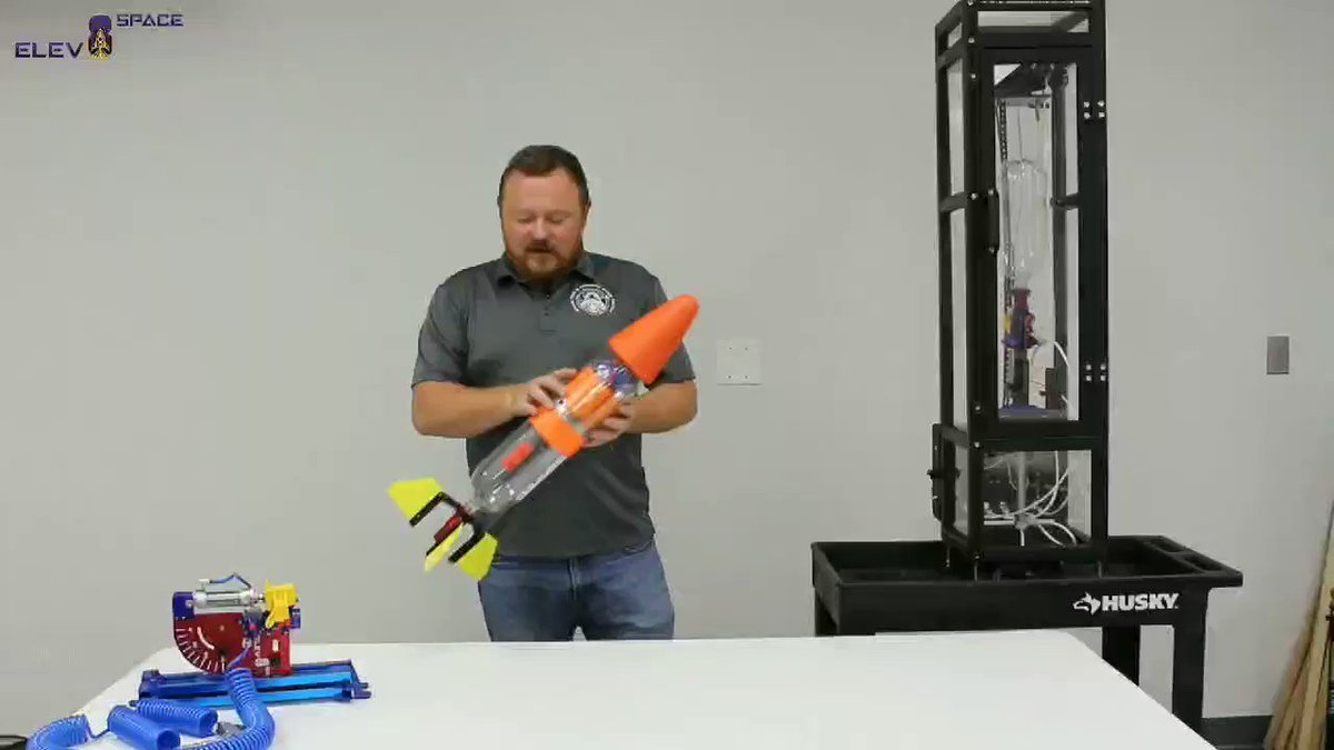 Meet Hydrolaunch: The star player of fun and experiential STEM learning!c  #hydrolaunch #stem #overview #learning #MATH #experiment #fun #Americafirst  #openskies #rockets #waterrocket #launch #launchamerica #parts #diy #student #rockettech #tech #academia #ElonMusk #green #intro