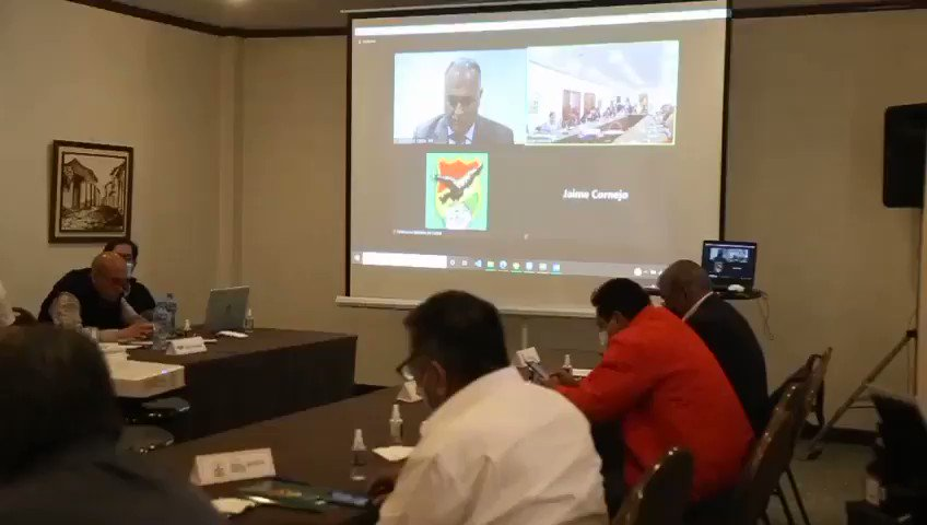#FBF Fernando Costa abre desde Asunción, vía Zoom, el Consejo Superior.