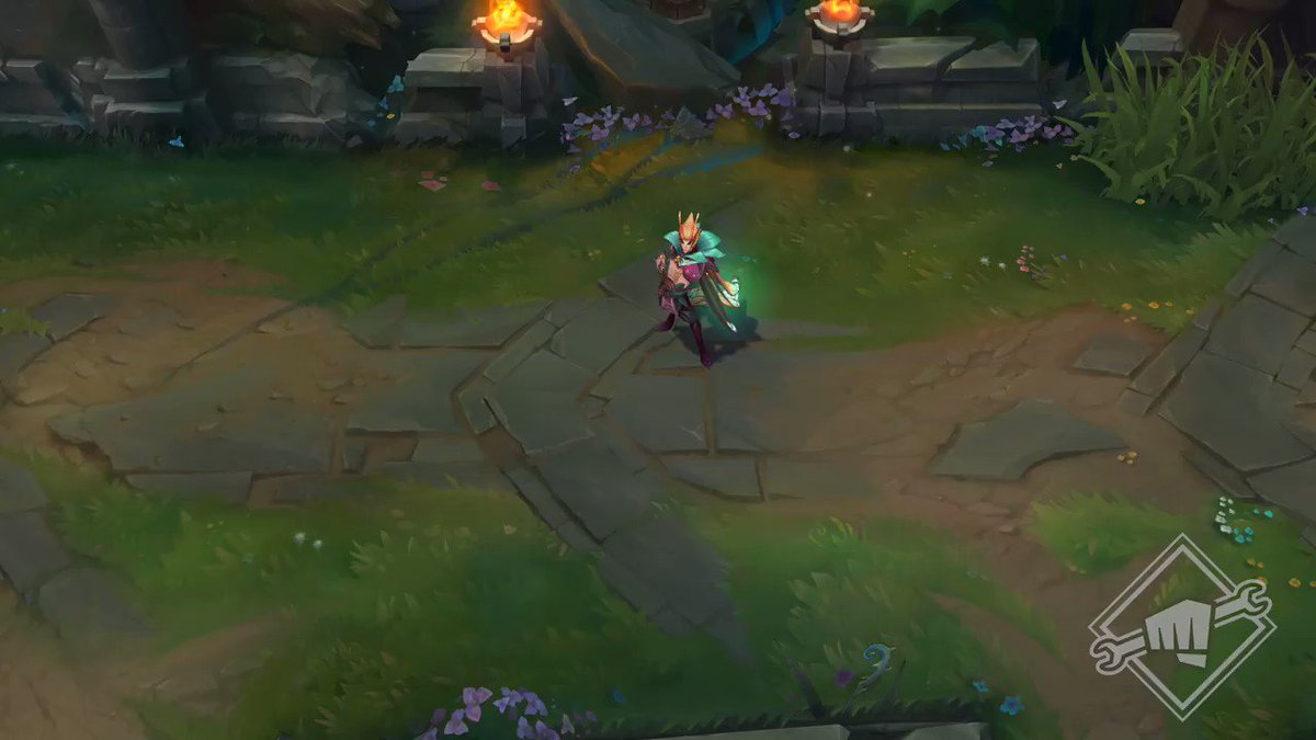 And not to be forgotten, Elderwood Xayah and Rakan ability previews.