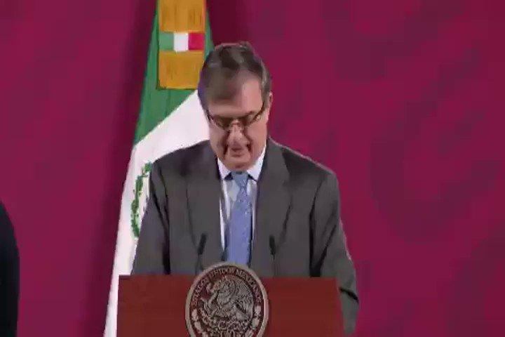 #NACIONAL El canciller, Marcelo Ebrard,  aseguró que se ampliarán los lugares donde se aplicarán los #ensayos de la #vacuna de #CanSino.