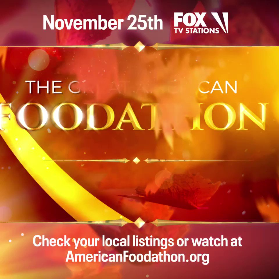 Tune-in to The Great #AmericanFoodathon presented by @Citi Wed, 11/25 on FOX! Join Blake & others in raising money for @nokidhungry & @cityharvest - orgs that help feed families & children struggling with hunger during this pandemic. Learn more ! -Team BS