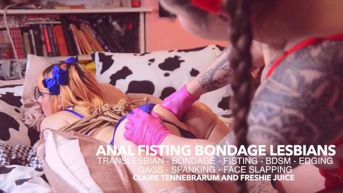 Bondage anal fisting with  @FreshieJuice  is now up! https://t.co/whTmbrvXhM https://t.co/CA0ZEVUd1q