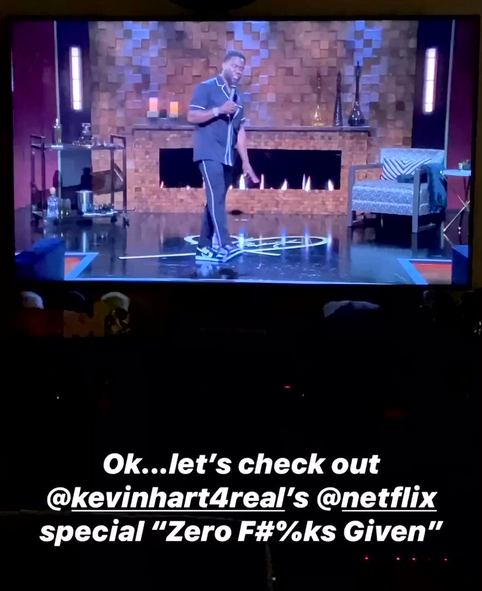 Oh Mr. @KevinHart4Real ... you a funny man! #ZeroFucksGiven on @netflix had me laughing this evening at home! 🤣  #Comedy #KevinHart #Netlfix #BOP