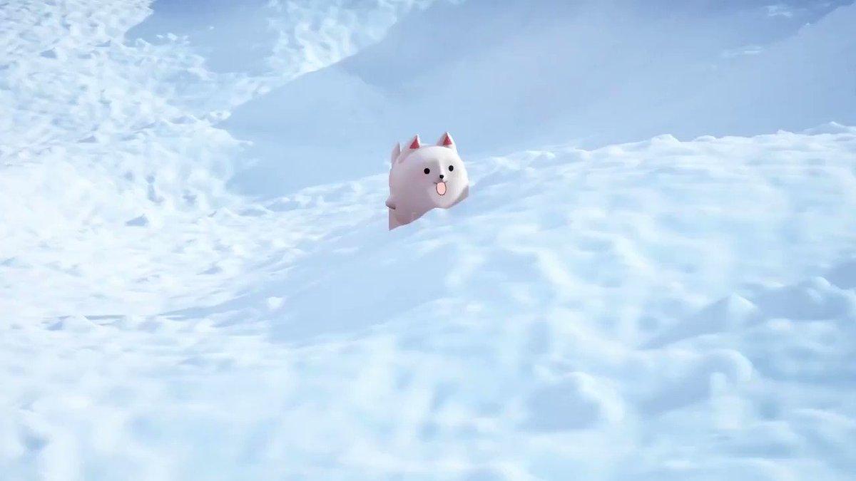おはようございます。(*´ω`*)今日は水曜日ですね。今日も頑張っていきましょう。あと、動画作りました。といっても雪をかき分けようすを確認しています。#Vtuber #おはようVtuber #おはようリル