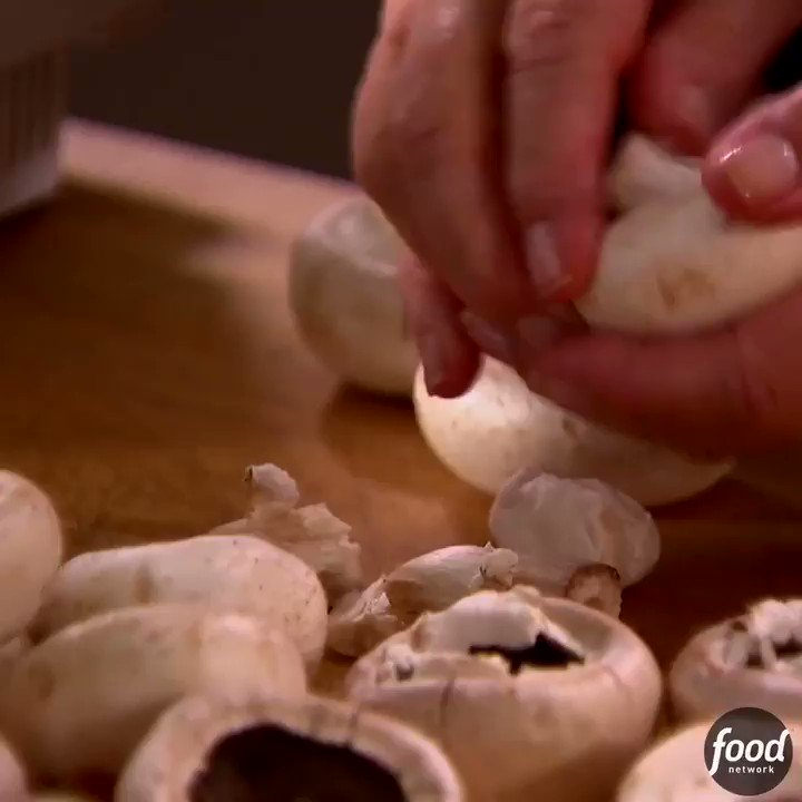Image for the Tweet beginning: .@InaGarten's Sausage-Stuffed Mushrooms are the
