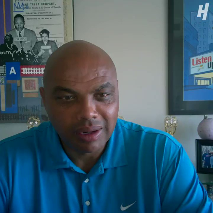 """Charles Barkley thinks @PapaMeagzz has """"no shot"""" to win the 100K this Friday. 😅🤔 https://t.co/ESXVpgPRfY"""