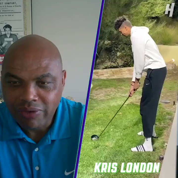 Chuck says you should never practice golf in flip flops but @PhilMickelson thinks it'll help @IamKrisLondon's game. 👀⛳️ https://t.co/6veEPyZC63