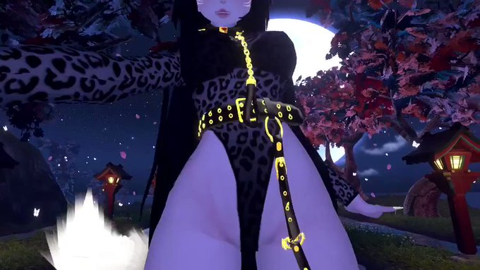 Are you looking at me or the world?~ 😈😍  #vrchat #vrc #vr #anime #virtualreality #egirl #virtualanime