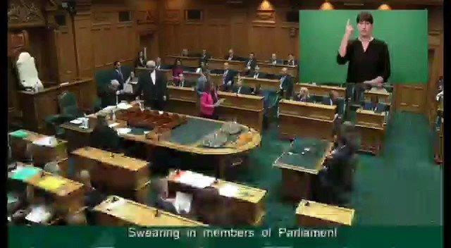 History Made: New Zealand Member of Parliament (MP) Dr Gaurav Sharma @gmsharmanz takes oath in Sanskrit. Sharma hails from India's Himachal Pradesh.
