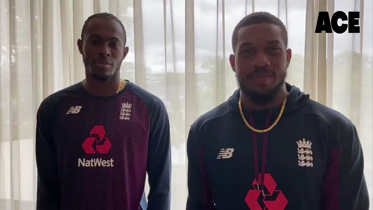 We are so excited to announce today that England superstars @JofraArcher and @CJordan join @AceProgramme as ambassadors 😎🙌🏾🏏. They are an inspiration to so many young kids to play the game. Good luck to @englandcricket v @OfficialCSA supporting you all the way! 🙌🏾💪🏾