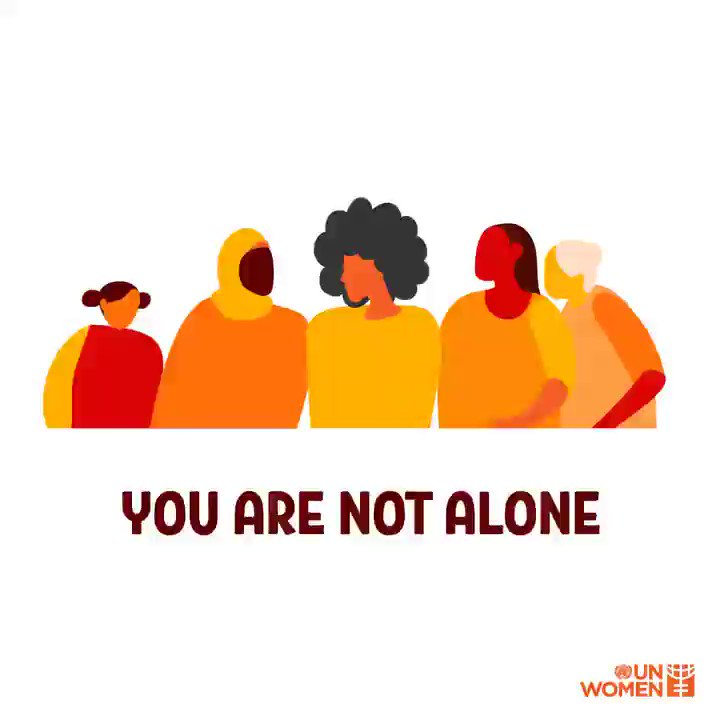 Today we commemorate the International Day to End Violence against Women.  Dear survivors of violence: We hear you. We see you. We believe you. You're not alone.🧡  #16Days #OrangeTheWorld