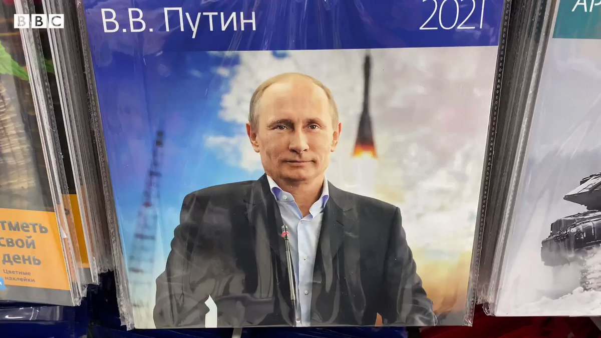 Decisions, decisions. Which of these four calendars on sale in Moscow would you choose for your kitchen wall? @BBCNews @BBCWorld  #2021