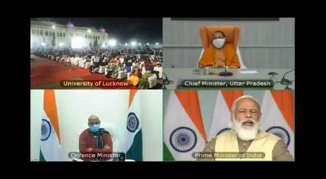 Proud moment for us #LUCentennialCelebration @profalokkumar @lkouniv @physicslkouniv @PhilosophyDepLU @dswlkouniv @PMOIndia @narendramodi @myogiadityanath