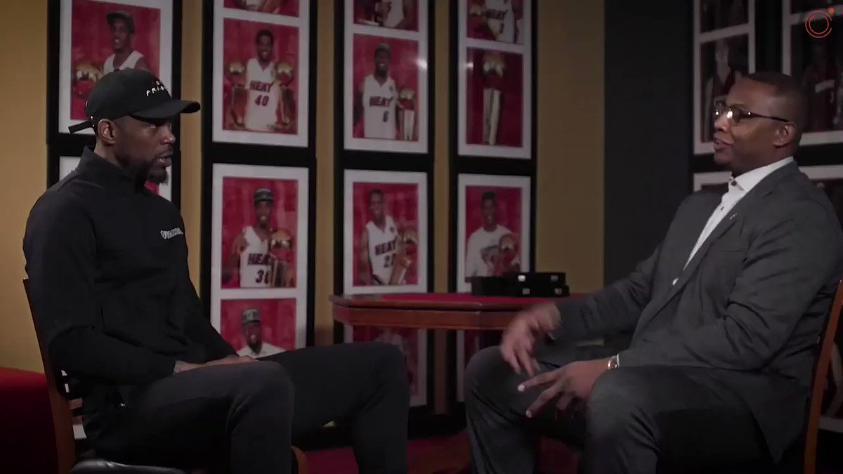 Udonis Haslem & Caron Butler sat down for a candid conversation between friends, 17 years after they first were teammates with the Miami Heat.  Here's @ThisIsUD, like you've never heard him, on his life and career on & off the court.  Full chat with #OG40: https://t.co/KiNh6JhxFj https://t.co/JvuGeomnED