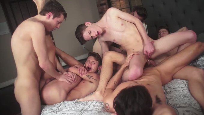 Inside Helix: The Orgy has been nominated for 'Best Scene of the Year' by Str8UpGayPorn's Best Of 2020