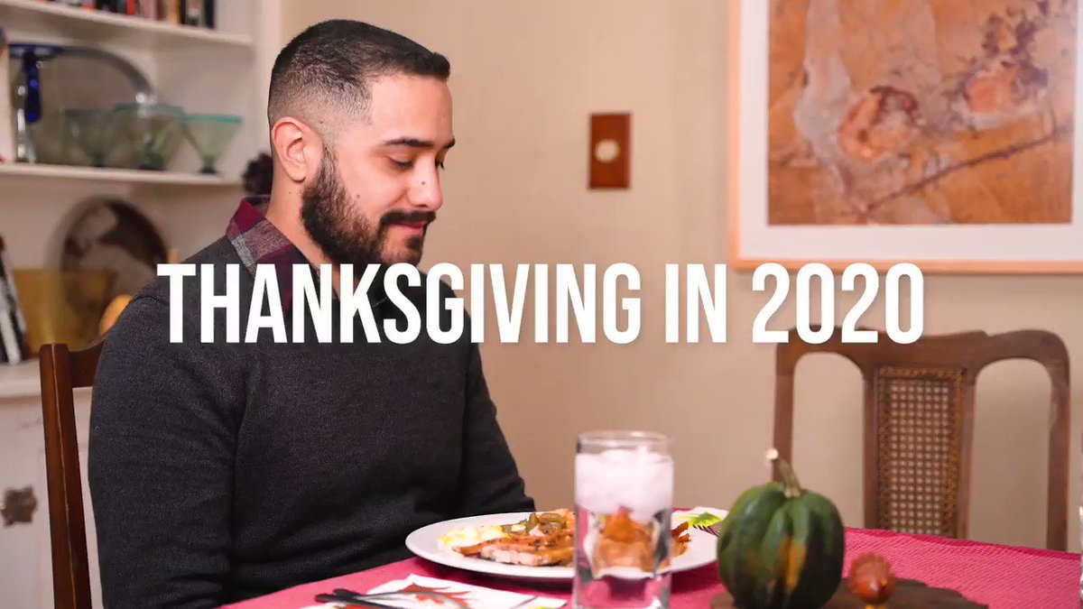 This isn't a normal year, and it isn't a normal holiday season. We all wish it weren't that way, but it is.  I know it's hard. We're tired. We all want to see our families. But please understand it's not worth the risk.  We can replace Thanksgiving dinner. We cannot replace you.