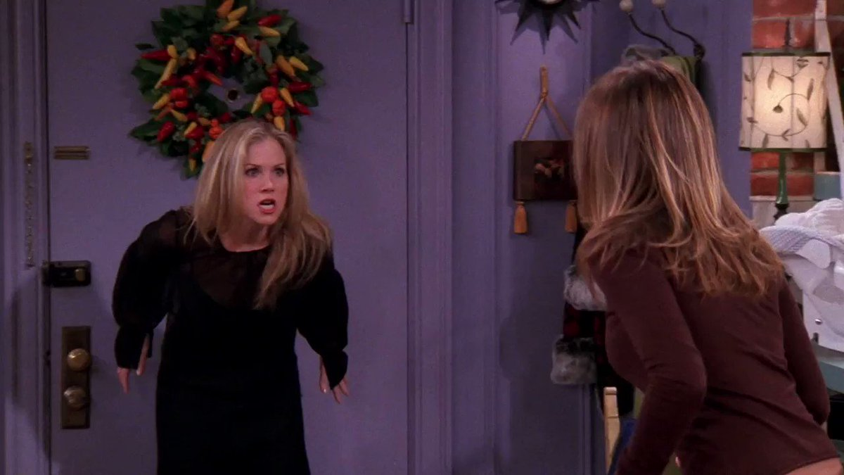 Happy birthday, Christina Applegate! We hope you don't have to fight Rachel again!