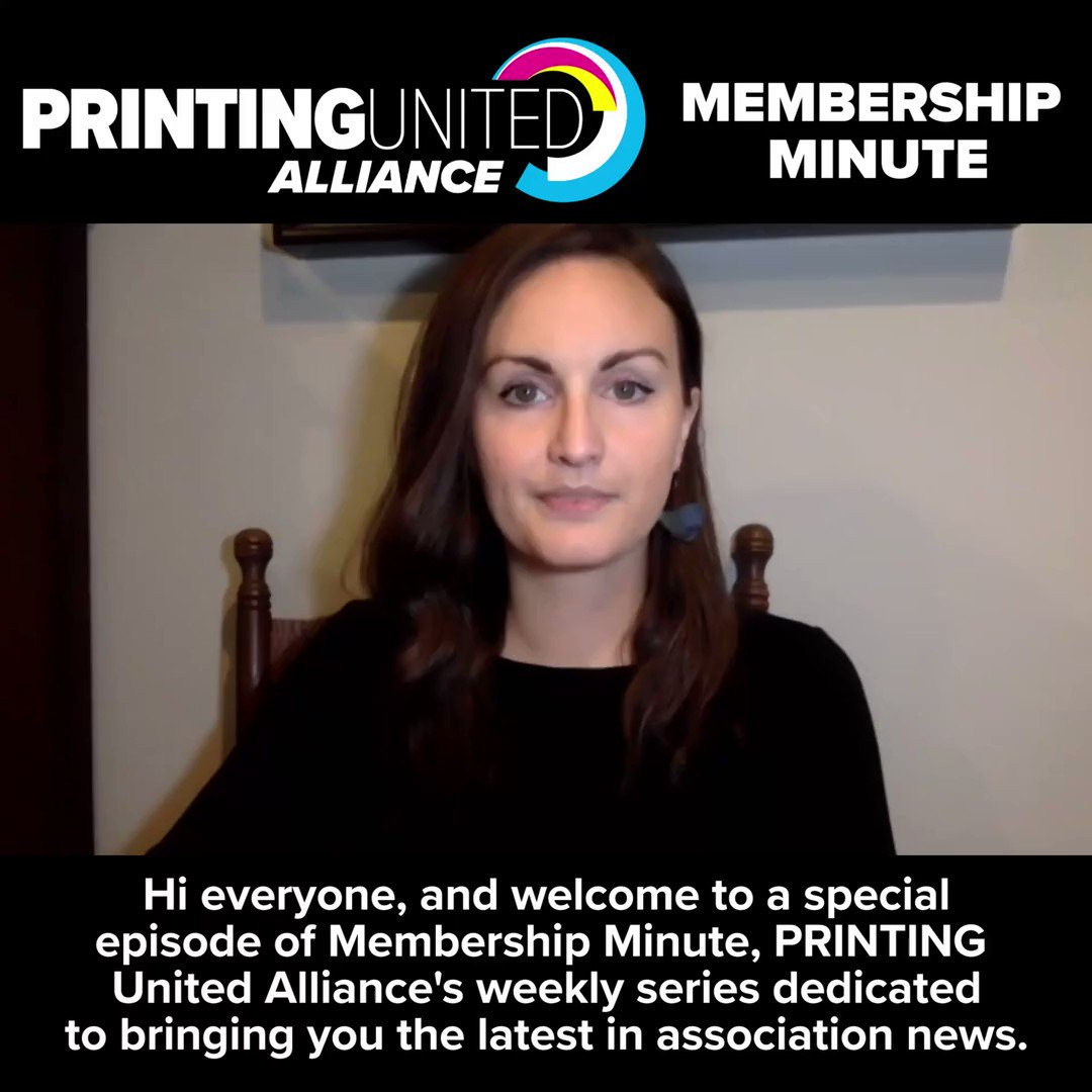 Image for the Tweet beginning: The @AATCC and PRINTING United