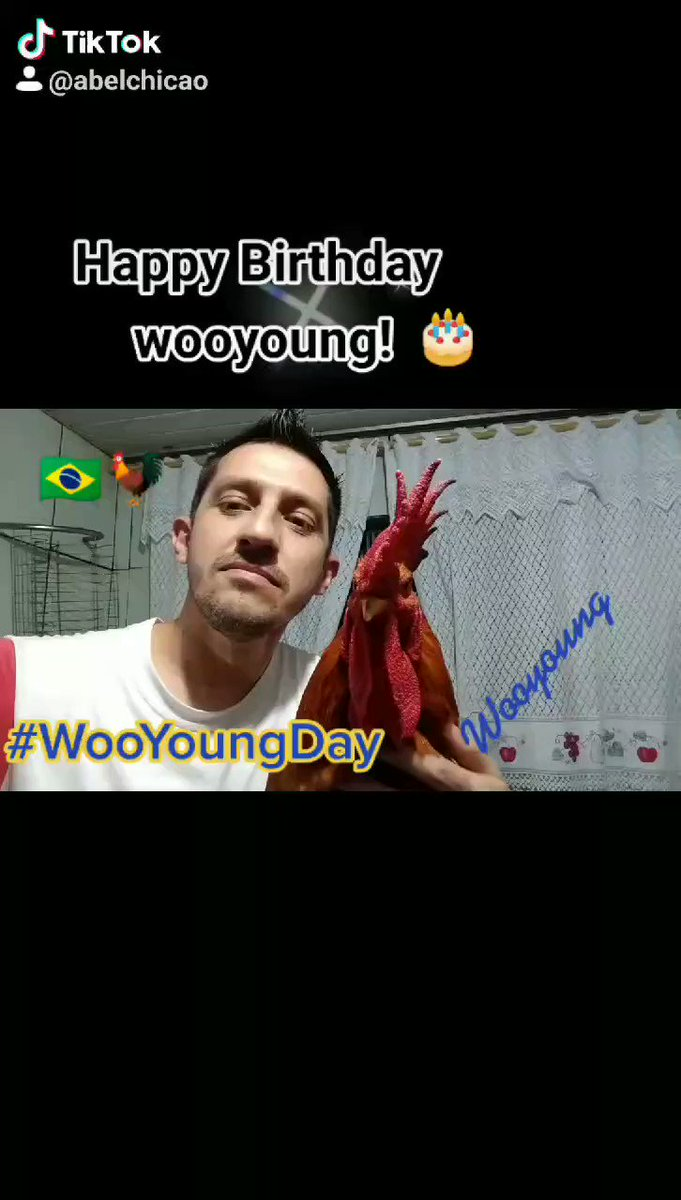 @HWANGRRRL_ congratulations to the boy who has a pure heart !! We wish you health and happiness always! #WOOYOUNG 🎂🐓🇧🇷 @ATEEZofficial #WooyoungDay #HappyWooyoungDay 🐓🎂🇧🇷