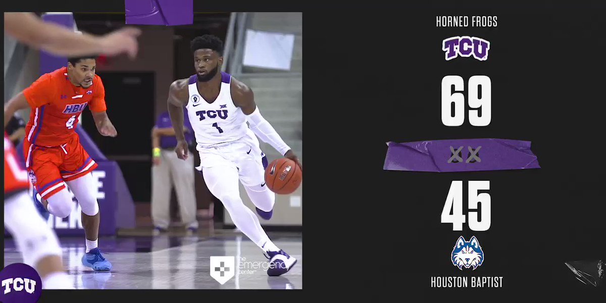 Win 1️⃣ in the bank!  #GoFrogs https://t.co/SjJNgMxMuq