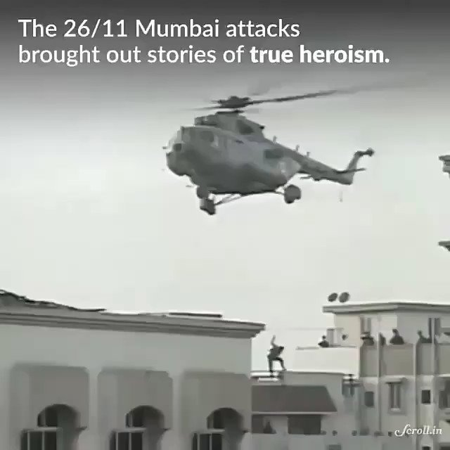 12 years of #MumbaiTerrorAttack ! While the martyrs and victims will never be forgotten, here's an ode to the pawsome gang, which is a reminder that not all heroes wear uniforms. Video courtesy : @scroll_in  #MumbaiAttack #2611Attack
