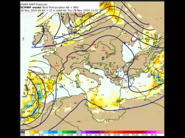 Bελτιωμένος καιρός μέχρι και το Σάββατο. Απο την Κυριακή και για ένα τριήμερο θα μας επηρεάσει το σύστημα που έρχεται από τα δυτικά με βροχές και καταιγίδες . Γενικώς υπάρχει η τάση να αλλάξει η κυκλοφορία της ατμόσφαιρας και να σπάσει ο εμποδισμός.