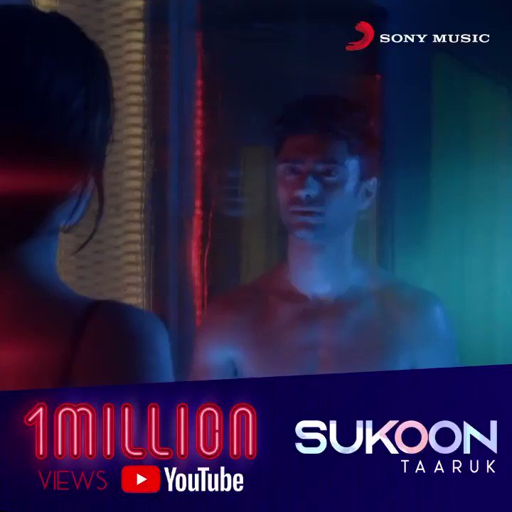 1 million hearts vibin' to @taaruk's  #Sukoon ❤️❤️    #taarukraina #aishaahmed #sukoon #love #breakup #breakupsongs #heartbroken #heartbrokenquotes #popsongs #moveon #newrelease #newsong #outnow #thursdaymorning #thursdayvibes #sukoon #1million