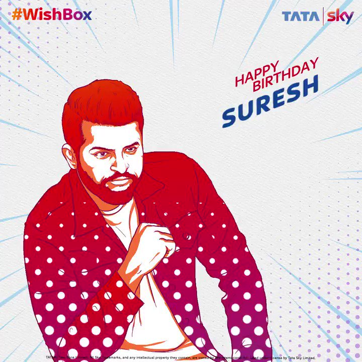 While he may have retired from the game, we will never get tired of seeing him do what he does best. To the best fielders of our country, Happy Birthday @ImRaina. Send in your wishes to him using #Wishbox  #HappyBirthdaySureshRaina #SureshRaina #IndianCricketer #BirthdayWishes